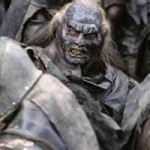 An orc from the Lord of the Rings. The bad socerer pressed them out of mud.