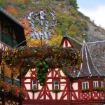 Bacharach on the Rhine in October