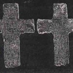 Two lead crosses, inscribed with Latin, found near Tucson Arizona
