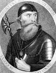 Robert the Bruce was descended from Vikings, and had associations with Templars