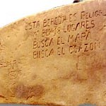A Peralta Stone map. Click on picuter to read about it in DesertUSA