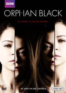 Orphan Black, a superior BBC America production. The trite theme of corporate intrigue takes a backseat to the character development.